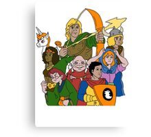 Dungeons & Dragons Canvas Print