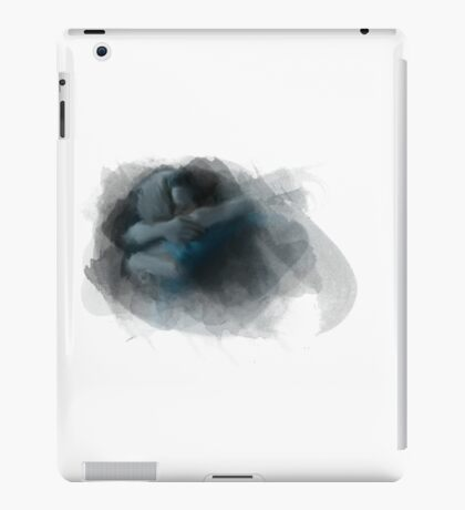 Swanfire digital painting (Once Upon a Time, Neal & Emma) iPad Case/Skin