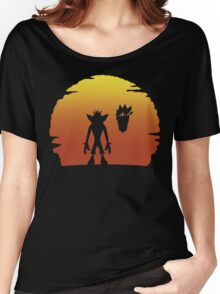 Crash on Sunset Women's Relaxed Fit T-Shirt