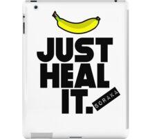 Just heal it iPad Case/Skin