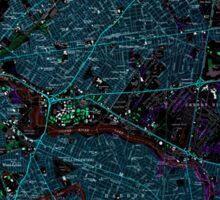 USGS TOPO Map New Jersey NJ Camden 254237 1967 24000 Inverted Sticker