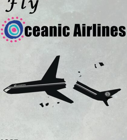 Fly Oceanic Airlines Print Sticker