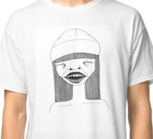 Abstract portrait, laughing. Classic T-Shirt