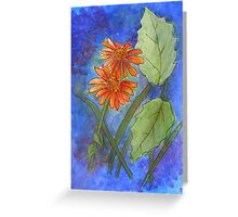 Floral Challenge Greeting Card