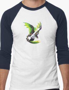 Aromantic Pride Dragon Men's Baseball ¾ T-Shirt