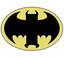 The Bat Symbol from Venture Bros. Photographic Print