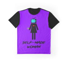 Self-Made Woman Graphic T-Shirt