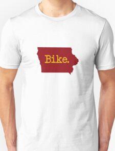 Iowa Bike IA Iowa State Cyclone Colors Unisex T-Shirt