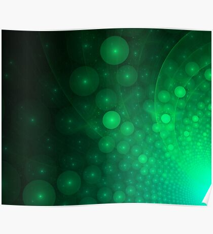 abstract fractal background Poster