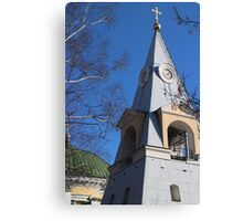 Bell tower pyramid Canvas Print