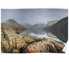 Wastwater in Winter Poster