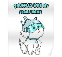 Rick and Morty - Snuffles T-shirt Poster