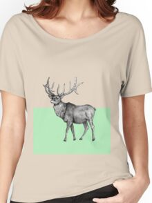 Mint wapiti Women's Relaxed Fit T-Shirt