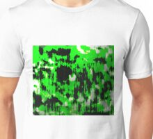 Neon Fractures Abstract Unisex T-Shirt