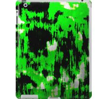 Neon Fractures Abstract iPad Case/Skin