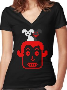Froster - Hell & Satan & Stuff Women's Fitted V-Neck T-Shirt