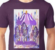 Purple carousel horse Unisex T-Shirt