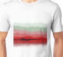 Fade To White Abstract Unisex T-Shirt