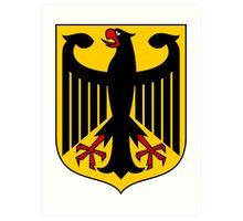 Germany Coat of Arms  Art Print