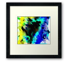 Clouded Judgement Abstract Framed Print