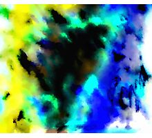 Clouded Judgement Abstract Photographic Print