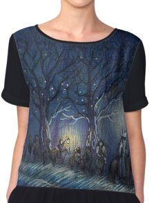 The Hobbit's journey Chiffon Top