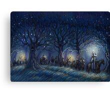 The Hobbit's journey Canvas Print