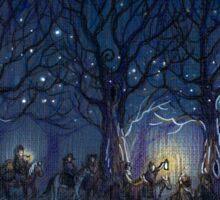 The Hobbit's journey Sticker
