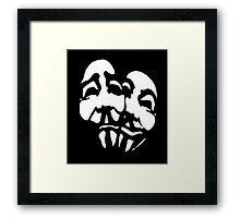 Anonymous Comedy  Framed Print