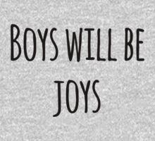 Boys Will Be Joys! One Piece - Long Sleeve