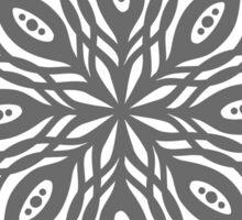 mandala floral ink design Sticker