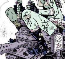 Tank Rides 25 Cent Sticker