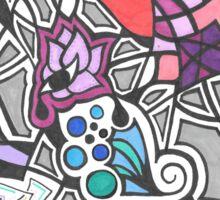 4-10-16 doodle Sticker