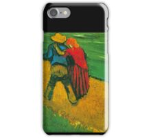 'Two Lovers' by Vincent Van Gogh (Reproduction) iPhone Case/Skin
