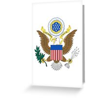 USA Coat of Arms  Greeting Card