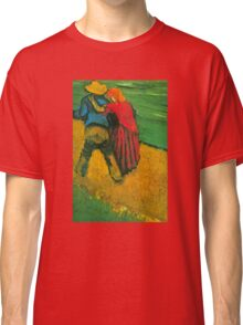 'Two Lovers' by Vincent Van Gogh (Reproduction) Classic T-Shirt
