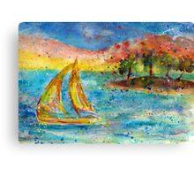 Sail Away.... Canvas Print