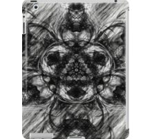 Majestic Scribble Symmetrical Abstract iPad Case/Skin