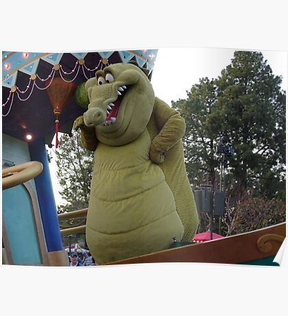 Croc on Parade Poster