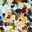 Diversity Handprints by Gravityx9