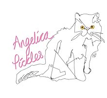 Angelica Pickles (@misspicklescat) Photographic Print