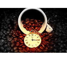 It's Coffee Time! Photographic Print