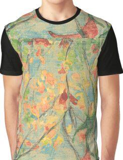 An Experimental Autumn Graphic T-Shirt