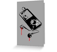 Death Music Greeting Card