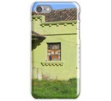Boarded Up House iPhone Case/Skin