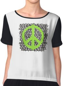 Peace on the Streets Chiffon Top