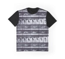 Muybridge - Photographic Study of Dogs in Motion Graphic T-Shirt