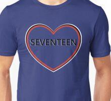 Seventeen Heart Unisex T-Shirt