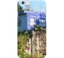 Dr. Who on Monhegan Island? iPhone Case/Skin