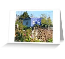Dr. Who on Monhegan Island? Greeting Card